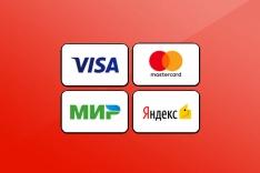 Модуль оплаты банковской картой (пробный платёж)